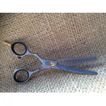 "Jaguar Pre Style Relax design left 5.25"" 28 tooth thinner or texturing scissor."