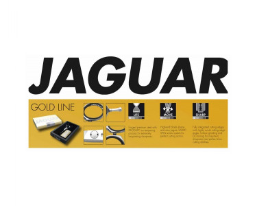 "Jaguar ""Diamond E 6"" Champion Class Gold Line scissor."