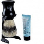 "Men-U ""Shaving brush & Stand Set with a ""Free tube of Shaving Cream""."