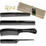 "Jaguar X Line 4 piece Rubber comb set. ""Very nice! ""Great Gift!"