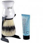 "Men-U ""Shaving brush & Stand Set with a ""Free tube of Shave Cream""."