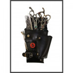 NH-2 FAUX BLACK LEATHER HOLSTER