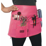 QNN Pink Leatherette  Wrap Skirt
