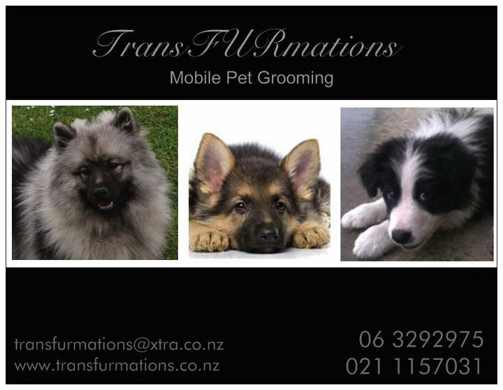 TransFURmations mobile pet grooming